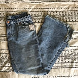 Free People Bell Bottoms NWT